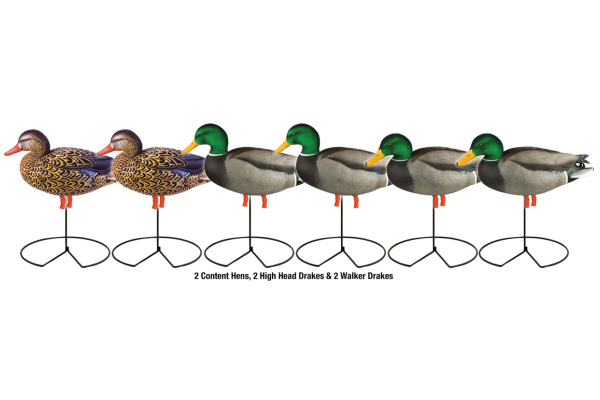 Stockente Greenhead Gear Harvester 6er-Pack