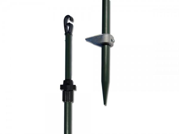 Tarnschirm Teleskopstangen 4er Pack Clever Hunting Hide Pole by OVIS.de