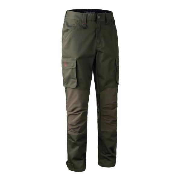 Deerhunter Jagdhose Rogaland Stretch Green mit Schenkeltasche