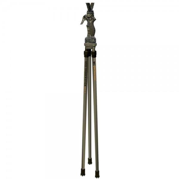 Der Zielstock Trigger Stick 3 ist in der Höhe von 61-157 cm per Knopfdruck verstellbar.
