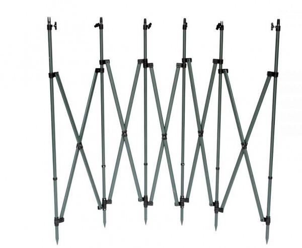 Das Tarnschirm-Gestell QuickBlind5 von PRO ATTRACT ist ein idealer Tarnstand für die Krähenjagd und ist mit dem flexiblen Teleskopstangen blitzschnell aufgebaut.