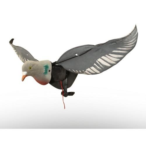 elektronische Locktaube Hypa Flapper für ein natürliches Lockbild auf Taubenjagd