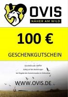 Dies ist ein 100 € Geschenkgutschein Muster.