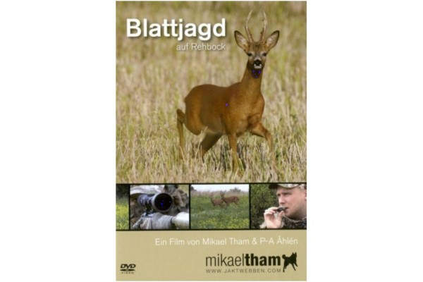 Mikeal Tham DVD Blattjagd auf Rehbock