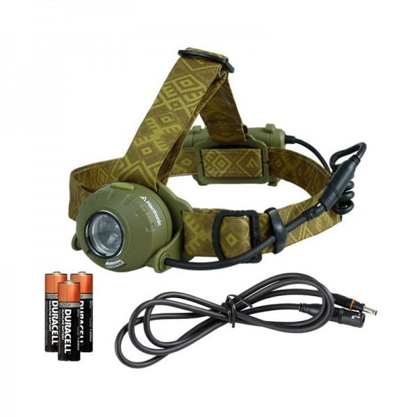 Jagd Stirnlampe Camo 300 lm