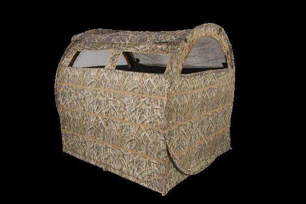 Der Strohballen Tarnschirm Hayhouse von flextone (ehm. Ameristep) ist aufgrund seiner Ballenform optimal für die Krähenjagd oder Taubenjagd auf Stoppelfeldern geeignet.