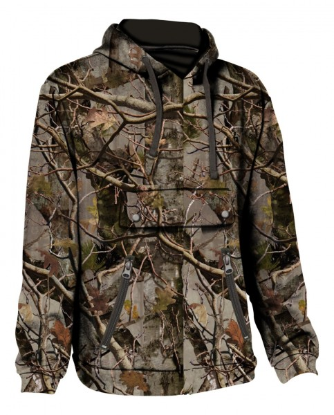 Percussion Jagdhoodie Ghost Camo