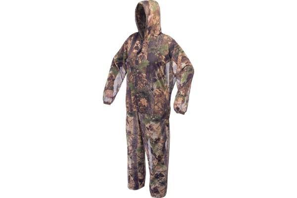 Tarnanzug Überziehanzug Blätter-Camouflage
