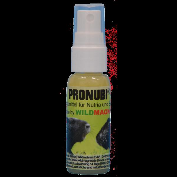 Pronubi ist ein Speziallockmittel für die Fallenjagd auf Nutria und Bisam.
