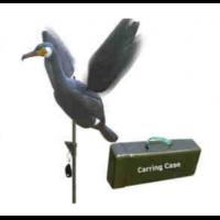 Sport Plast Kormoran Lockvogel Vollkörper mit elektrischen Schwingen