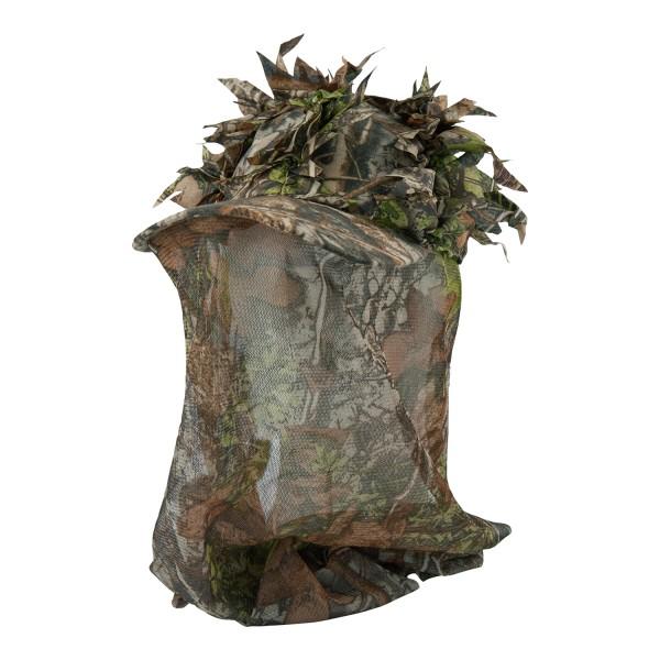 Sneaky 3D Tarnkappe mit Kopfnetz Blättertarn
