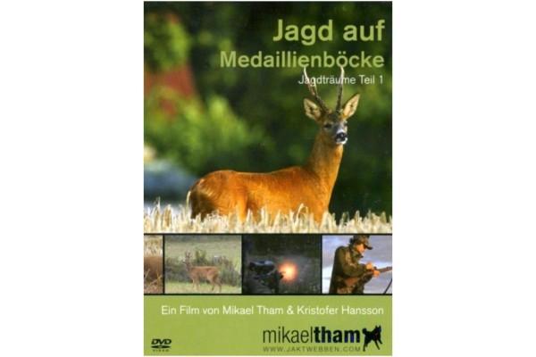 Mikeal Tham DVD Jagd auf Medaillenböcke - Jagdträume Teil 1