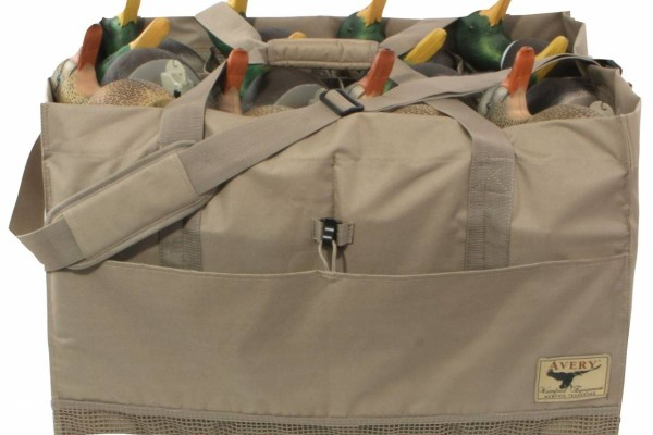 Transporttasche für Lockvögel Avery Outdoors 12-Slot Decoy Bag khaki