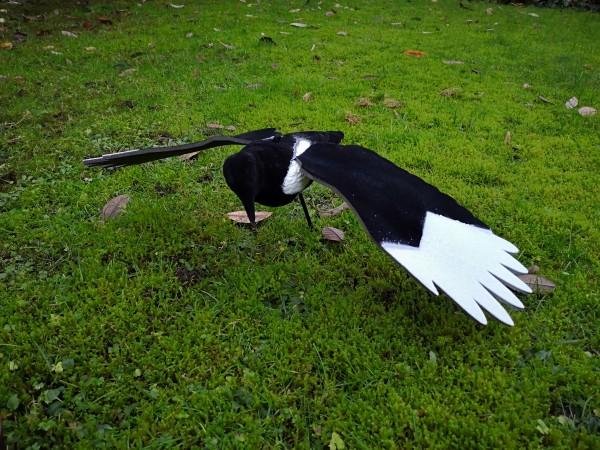 fliegende Lockelster Clever Hunting Vollkörper beflockt auf Erdspieß