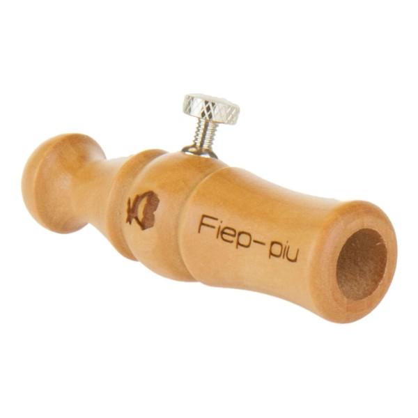 Der Rehblatter Fiep- piu- Blatter von Weisskirchen ist ein Rehblatter aus Holz und kann mit einer Stellschraubeb auf der Blattjagd unterschielich locken.